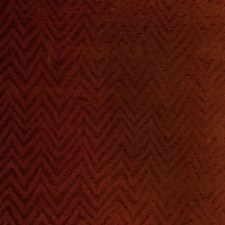Pomegranate Herringbone Drapery and Upholstery Fabric by S. Harris