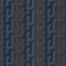 Cobalt Contemporary Drapery and Upholstery Fabric by S. Harris