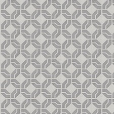 Grey Embroidery Drapery and Upholstery Fabric by Trend