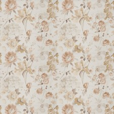 Autumn Floral Drapery and Upholstery Fabric by Vervain