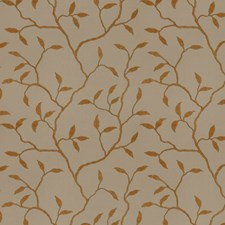 Sienna Birch Embroidery Drapery and Upholstery Fabric by Trend