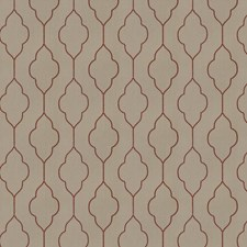 Red Birch Embroidery Drapery and Upholstery Fabric by Trend