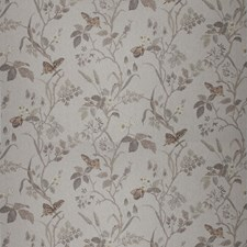 Wild Buck Floral Drapery and Upholstery Fabric by Vervain