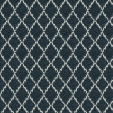 Cadet Geometric Drapery and Upholstery Fabric by Trend