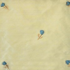 Natural/blue Drapery and Upholstery Fabric by Duralee