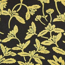 Gold/onyx Drapery and Upholstery Fabric by Duralee
