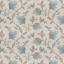 Ocean Embroidery Drapery and Upholstery Fabric by Trend