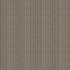 Taupe Geometric Drapery and Upholstery Fabric by Stroheim