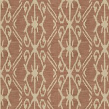 Paprika Geometric Drapery and Upholstery Fabric by Vervain