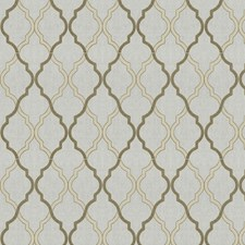 Mocha Embroidery Drapery and Upholstery Fabric by Trend