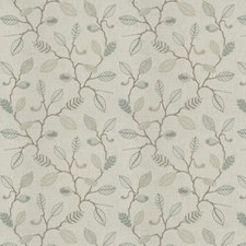 Rain Embroidery Drapery and Upholstery Fabric by Fabricut