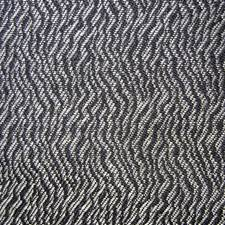 Black/white Drapery and Upholstery Fabric by Duralee