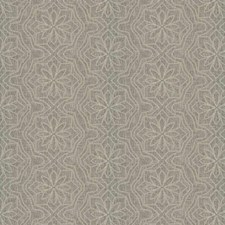 Gray Embroidery Drapery and Upholstery Fabric by Fabricut