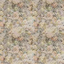 Tropic Geometric Drapery and Upholstery Fabric by S. Harris