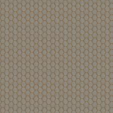 Bronze Geometric Drapery and Upholstery Fabric by Fabricut