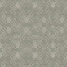 Sea Geometric Drapery and Upholstery Fabric by Fabricut