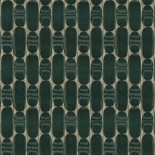 Tourmaline Geometric Drapery and Upholstery Fabric by S. Harris