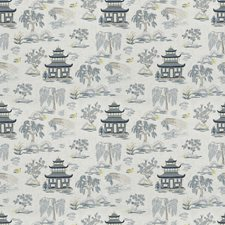 Ink Asian Drapery and Upholstery Fabric by Trend