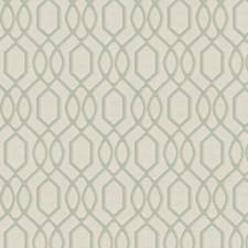 Aqua Lattice Drapery and Upholstery Fabric by Trend
