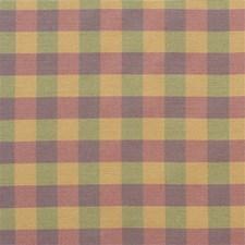 Iris/La Plaid Drapery and Upholstery Fabric by Lee Jofa