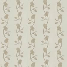 Sage Brush Embroidery Drapery and Upholstery Fabric by Stroheim