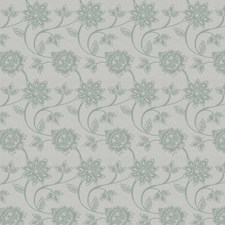Spa Embroidery Drapery and Upholstery Fabric by Trend