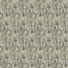 Fog Mist Geometric Drapery and Upholstery Fabric by Fabricut