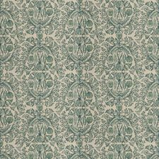 Verde Floral Drapery and Upholstery Fabric by Fabricut