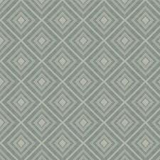 Seafoam Diamond Drapery and Upholstery Fabric by Fabricut