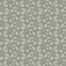 Silver Leaves Drapery and Upholstery Fabric by Trend