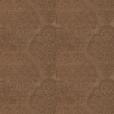 Terra Cotta Paisley Drapery and Upholstery Fabric by Stroheim