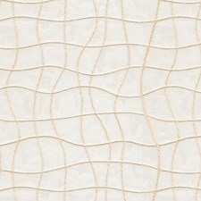 Beige/White Embroidery Drapery and Upholstery Fabric by Kravet