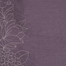 Plum Drapery and Upholstery Fabric by RM Coco