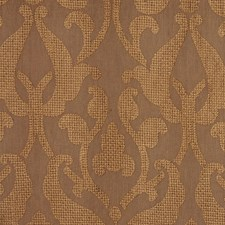 Coffee Liqueor Drapery and Upholstery Fabric by RM Coco