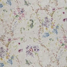 Berry Floral Drapery and Upholstery Fabric by Greenhouse