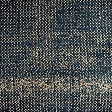 Denim On Taupe Drapery and Upholstery Fabric by Scalamandre
