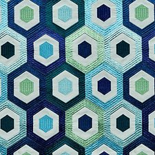 Blue Mood Drapery and Upholstery Fabric by Scalamandre