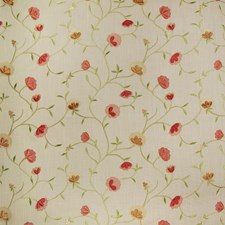 Spice Floral Drapery and Upholstery Fabric by Greenhouse