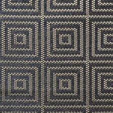 Blue/Khaki Drapery and Upholstery Fabric by Scalamandre