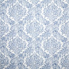 Blue Traditional Drapery and Upholstery Fabric by Pindler