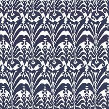 Cobalt Drapery and Upholstery Fabric by Kasmir