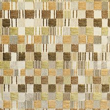 Tan/Multi Drapery and Upholstery Fabric by Scalamandre