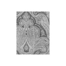 Charcoal Paisley Drapery and Upholstery Fabric by Andrew Martin