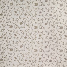 Linen Floral Drapery and Upholstery Fabric by Greenhouse
