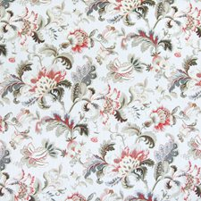 Moonbeam Floral Drapery and Upholstery Fabric by Greenhouse