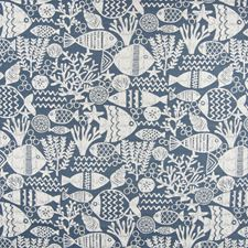 Denim Novelty Drapery and Upholstery Fabric by Greenhouse