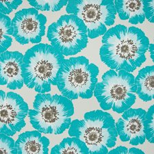 Serenity Floral Drapery and Upholstery Fabric by Greenhouse