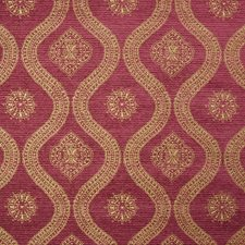 Cabernet Medallion Drapery and Upholstery Fabric by Greenhouse