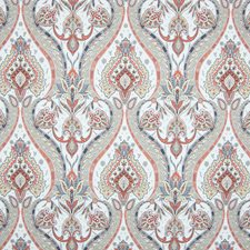 Spice Berry Medallion Drapery and Upholstery Fabric by Greenhouse