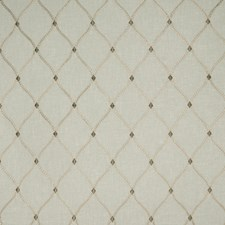 Porcelain Lattice Drapery and Upholstery Fabric by Greenhouse